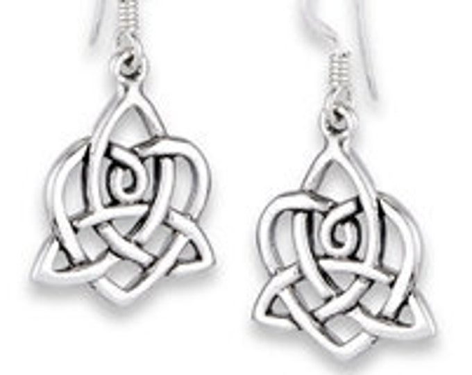 Love Knot Earrings, Celtic Jewelry, Irish Jewelry, Norse Jewelry, Bridal Jewelry, Anniversary Gift, Outlander Jewelry, Celtic Earrings
