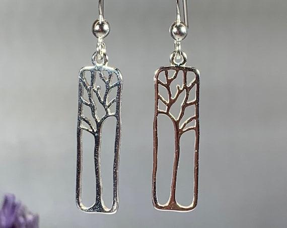 Tree of Life Earrings, Celtic Jewelry, Norse Jewelry, Irish Jewelry, Yoga Jewelry, Anniversary Gift, Friendship Gift, Graduation Gift