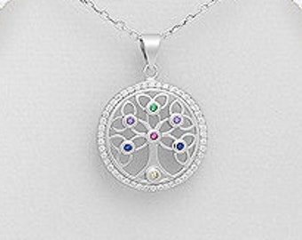 Tree of Life Necklace, Tree Necklace, Irish Jewelry, Yoga Jewelry, Anniversary, Wedding Jewelry, New Bride Gift, Graduation, Norse Jewelry