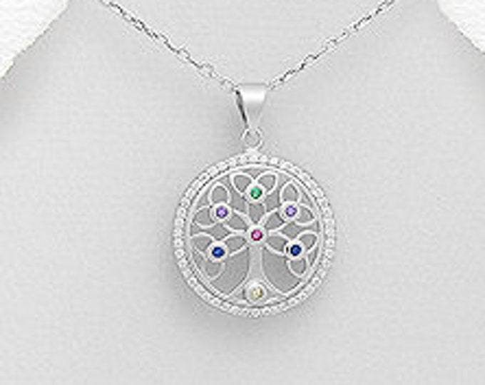 Celtic Tree of Life Necklace, Tree Necklace, Irish Jewelry, Mother's Day, Anniversary, Wedding Jewelry, New Bride Gift, Graduation