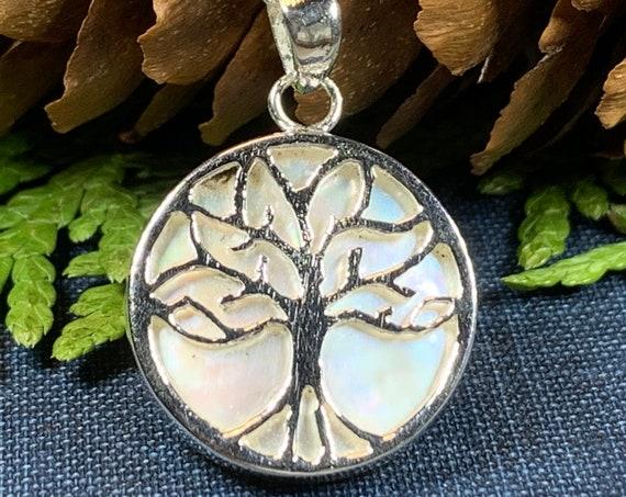 Tree of Life Necklace, Celtic Jewelry, Irish Jewelry, Tree Jewelry, Yoga Jewelry, Anniversary Gift, Graduation Gift, Scotland Jewelry