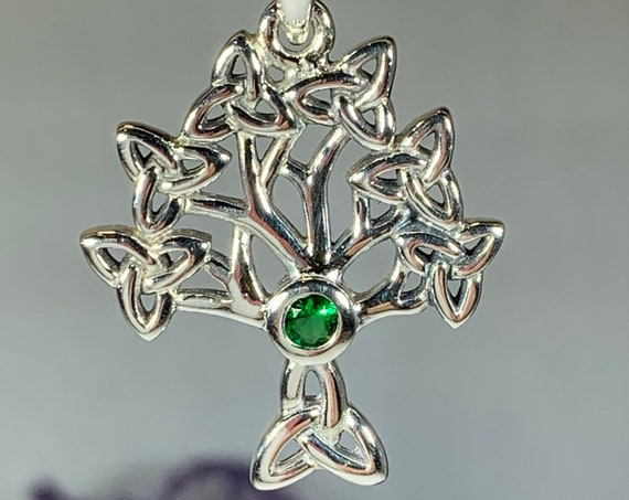 Tree of Life Necklace, Celtic Jewelry, Irish Jewelry, Nature Jewelry, Anniversary Gift, Norse Jewelry, Yoga Jewelry, Graduation Gift