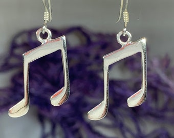 Music Lover Earrings, Music Gift, Musical Note Earrings, Music Teacher Gift, Sister Gift, Best Friend Gift, Graduation Gift, Musician Gift
