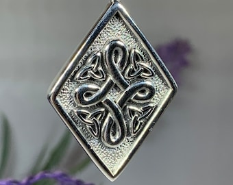 Celtic Knot Necklace, Irish Jewelry, Norse Jewelry, Bridal Jewelry, Scotland Jewelry, Anniversary Gift, Girlfriend Gift, Ireland Gift
