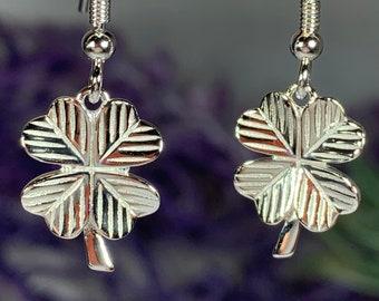 Shamrock Earrings, Celtic Jewelry, Irish Jewelry, Feis Accessory, Irish Dance Gift, Mom Gift, Clover Jewelry, Ireland Jewelry, Good Luck