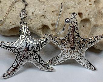 Starfish Earrings, Nautical Jewelry, Beach Jewelry, Christian Jewelry, Sea Jewelry, Animal Jewelry, Nature Earrings, Beach Jewelry
