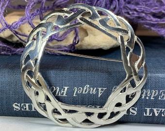 Celtic Knot Brooch, Celtic Jewelry, Irish Jewelry, Scotland Brooch, Celtic Brooch, Anniversary Gift, Celtic Pin, Ireland Gift, Norse Brooch