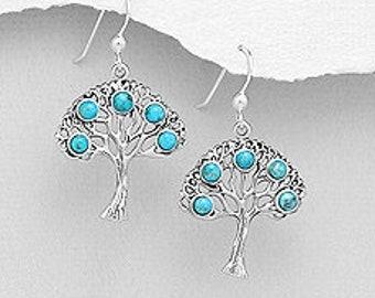 Tree of Life Earrings, Celtic Jewelry, Irish Jewelry, Norse Jewelry, Tree Jewelry, Wiccan Jewelry, Mom Gift, Sister Gift, Anniversary Gift