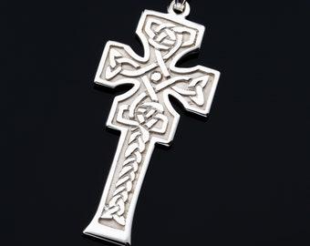 Celtic Cross Necklace, Irish Cross, Cross Necklace, Celtic Jewelry, Scotland Jewelry, Religious Jewelry, Catholic Jewelry, Christian Cross