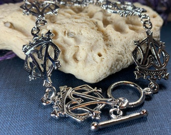 Luckenbooth Bracelet, Scotland Jewelry, Celtic Jewelry, Mary Queen of Scots, Bridal Jewelry, Outlander Jewelry, Celtic Bracelet, Bridesmaids