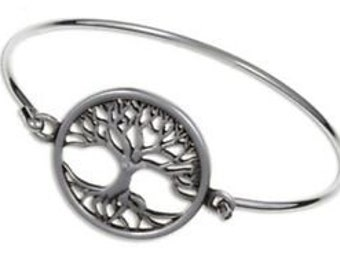 Tree of Life Bracelet, Celtic Jewelry, Mom Gift, Tree Jewelry, Friendship Gift, Wiccan Jewelry, Anniversary Gift, Girlfriend Gift, Wife Gift