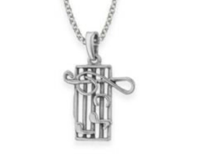 Music Notes Necklace, Music Notes, Gift for Her, Sister, Theatre Lover, Orchestra, Band, Music Teacher, Chorus, Choir