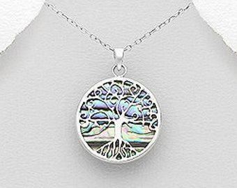 Celtic Tree of Life Shell Celtic Necklace, Mother's Day, Easter, Anniversary, Wedding, Sister, Girlfriend, Graduation, Retirement