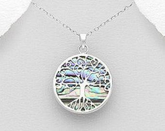 Tree of Life Necklace, Celtic Jewelry, Norse Jewelry, Anniversary Gift, Wedding Jewelry, Viking Jewelry, Graduation Gift, Irish Jewelry