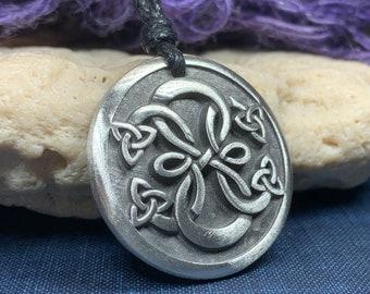 Celtic Knot Necklace, Ireland Gift, Irish Jewelry, Celtic Jewelry, Scotland Necklace, Norse Jewelry, Pewter Jewelry, Infinity Jewelry