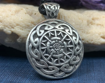 Celtic Knot Necklace, Ireland Gift, Irish Jewelry, Celtic Jewelry, Scotland Necklace, Norse Jewelry, Pewter Jewelry, Friendship Gift