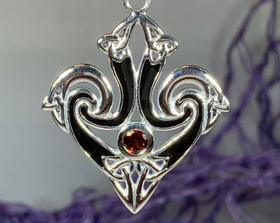 Trinity Knot Necklace, Celtic Jewelry, Irish Jewelry, Norse Jewelry, Bridal Jewelry, Wiccan Jewelry, Celtic Knot Necklace, Wife Gift