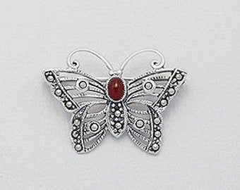 Butterfly Brooch, Nature Jewelry, Anniversary Gift, Birthday for Her, Celtic Jewelry, Mom Gift, Sister Gift, Best Friend, Nature Jewelry