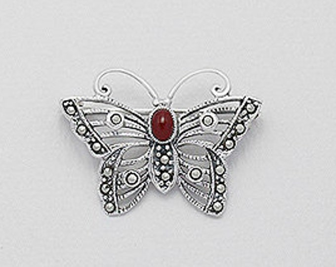 Celtic Butterfly Brooch, Easter Gift, Anniversary, Birthday for Her, Wife, Mother's Day, Sister, Best Friend, Girlfriend, Daughter