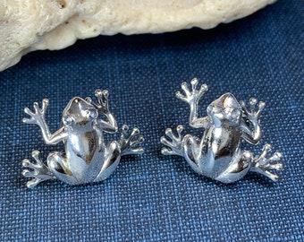 Frog Earrings, Tree Frog Earrings, Animal Jewelry, Nature Jewelry, Mom Gift, Sister Gift, Girlfriend Gift, Teacher Gift, Aunt Gift