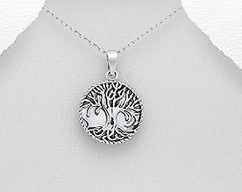 Tree of Life Necklace, Celtic Jewelry, Irish Jewelry, Tree Jewelry, Yoga Jewelry, New Age Gift, Anniversary, Wedding Gift, Graduation Gift