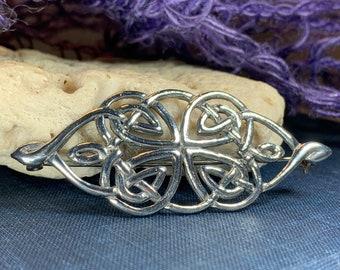 Celtic Knot Brooch, Celtic Jewelry, Irish Jewelry, Scotland Brooch, Celtic Brooch, Anniversary Gift, Celtic Knot Pin, Ireland Gift, Norse