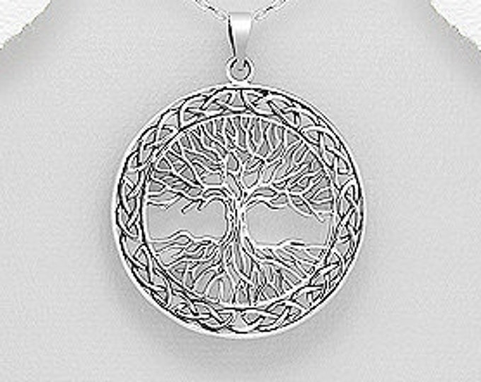 Tree of Life Necklace, Celtic Necklace, Forest Jewelry, Celtic Tree Necklace, Norse Jewelry, Friendship Gift, New Age Jewelry, Pagan, Yoga