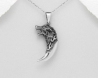 Viking Wolf Claw Necklace, Gift for Him, Norse, Pagan, Viking, Celtic Knot, Father's Day, Graduation, Birthday, Dad, Boyfriend, Warrior