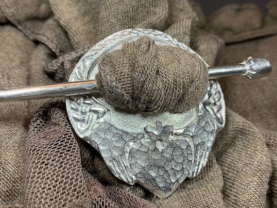 Claddagh Scarf Ring, Ireland Gift, Irish Jewelry, Celtic Jewelry, Shawl Slide, Mom Gift, Wife Gift, Sister Gift, Scarf Slide