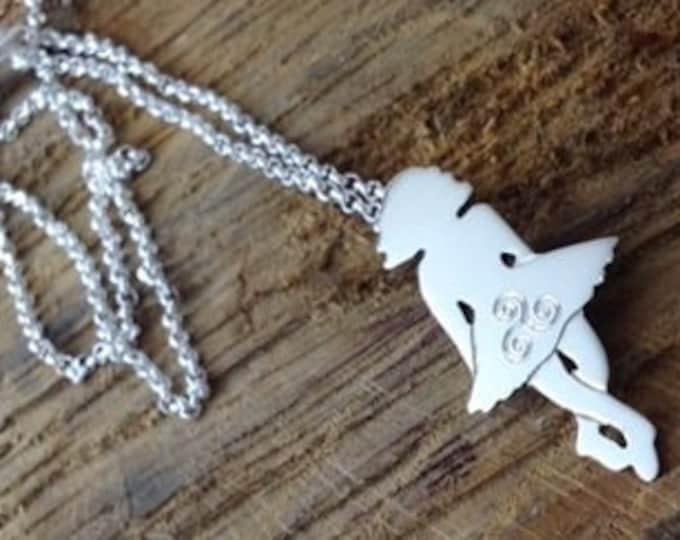 Irish Dancer Necklace, Celtic Jewelry, Irish Jewelry, Sister Gift, Mom Gift, Dance Jewelry, Irish Dance Gift, Celtic Knot Jewelry