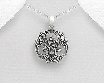 Viking Amulet Necklace, Gift for Him, Norse, Pagan, Viking, Celtic Knot, Father's Day, Graduation, Birthday, Dad, Boyfriend, Warrior