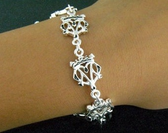 Mary Queen of Scots Luckenbooth Scottish Bracelet