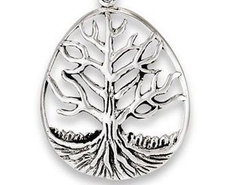 Eternal Strength Tree of Life Celtic Necklace