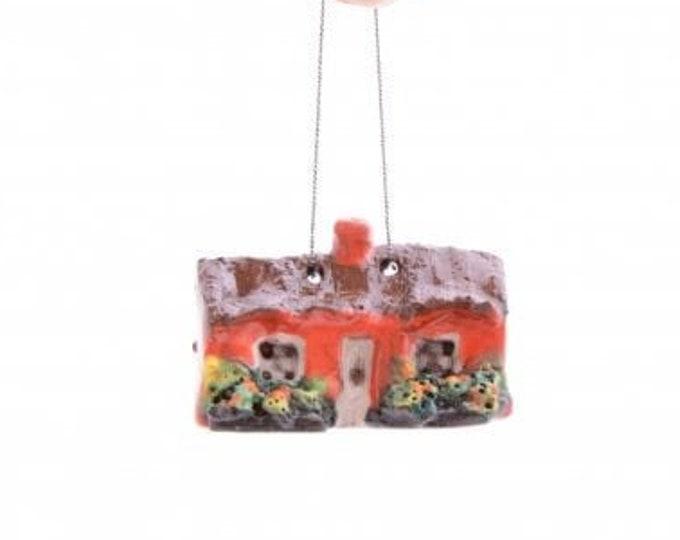 Irish Cottage Figurine, Irish Gift, Wife Gift, Mom Gift, Dad Gift, Birthday Gift, Irish Gift, Retirement, New Home Gift, Sister Gift