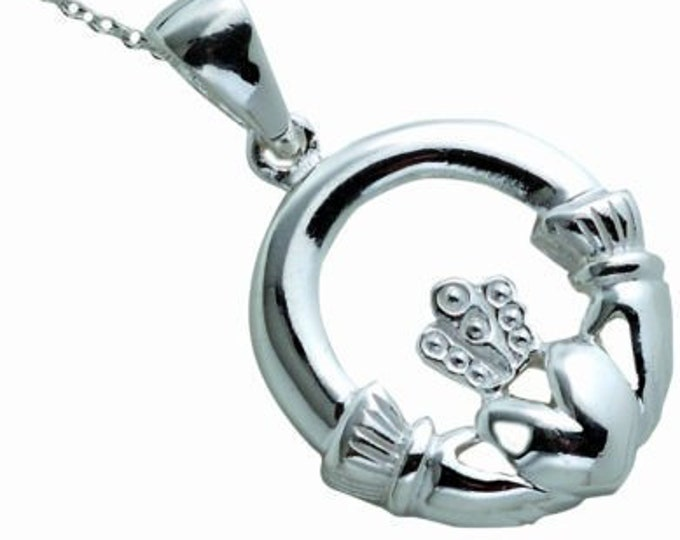 Claddagh Celtic Necklace, Celtic Jewelry, Mom Gift, Sister Gift, Anniversary Gift, Best Friend Gift, Girlfriend Gift, Heart Jewelry