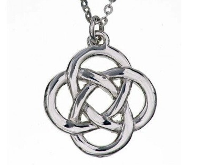 Celtic Knot Necklace, Irish Jewelry, Sister, Wife, Mother, Ireland Jewelry, Celtic Wedding, Bride, Love Knot, Girlfriend Gift, Pagan, Wiccan