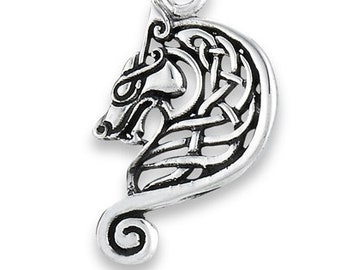 Horse Necklace, Celtic Jewelry, Equestrian Jewelry, Viking Jewelry, Ireland Jewelry, Wiccan Jewelry, Epona Horse Necklace, Norse Jewelry