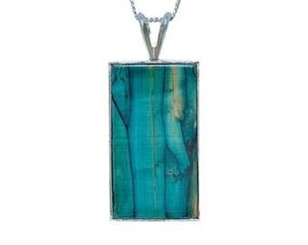 Scottish Highland Necklace, Heather Gem, Scotland Jewelry, Gift for Mom, Graduation Gift, Organic Jewelry, Gift for Her, Outlander Jewelry