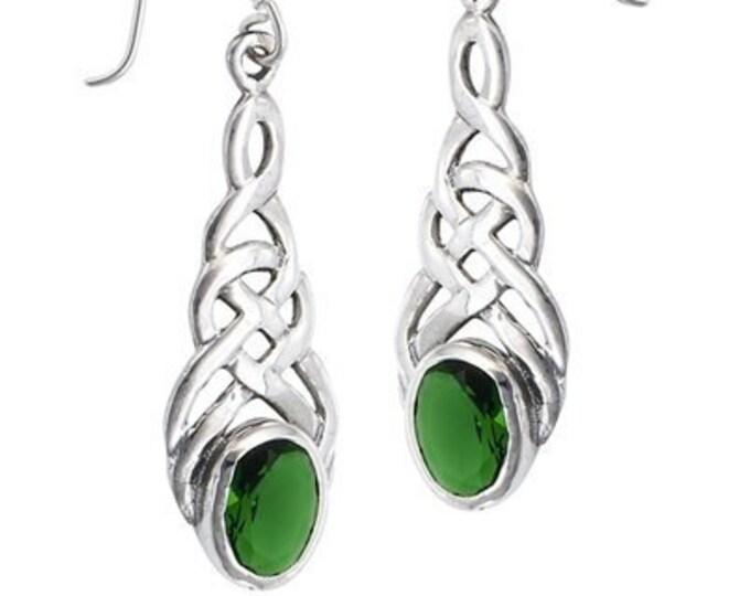 Celtic Knot Earrings, Irish Jewelry, Celtic Jewelry, Wife Gift, Anniversary Gift, Mom Gift, Scotland Jewelry, Wiccan Jewelry, Pagan Jewelry