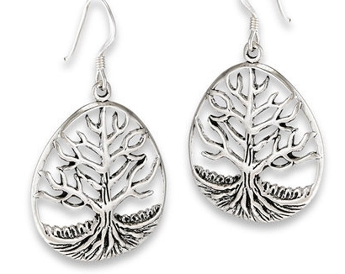 Tree of Life Earrings, Celtic Jewelry, Tree Earrings, Yoga Jewelry, Graduation, Gift for Her, Nature Jewelry, New Age Jewelry, Norse Jewelry