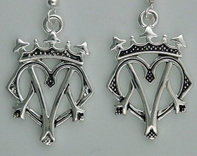 Regal Luckenbooth Celtic Earrings, Wedding Earrings, Love Token, Best Friend, New Bride, Gift for Her, Girlfriend Jewelry, Celtic Jewelry