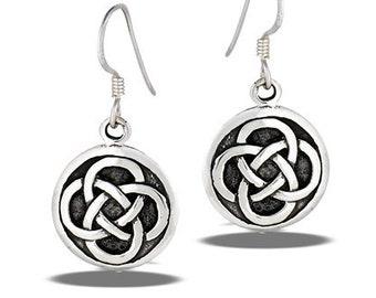 Dara Knot Earrings, Celtic Jewelry, Irish Jewelry, Friendship Gift, Mom Gift, Sister Knot, Celtic Knot Earrings, Ireland Gift, Teacher Gift