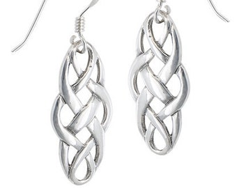 Celtic Knot Earrings, Celtic Jewelry, Ireland Jewelry, Scotland Jewelry, Wiccan Jewelry, Pagan Jewelry, Bridal Jewelry, Anniversary Gift