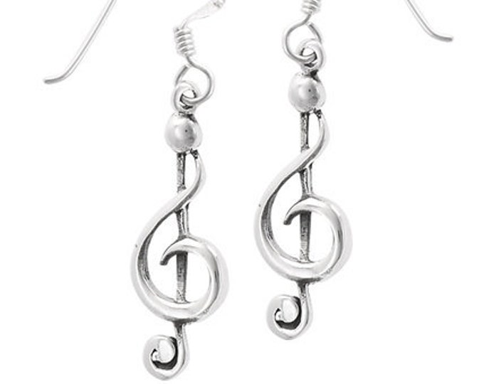 Music Lover Earrings, Music Gift, Gift for Her, Mom Gift, Anniversary Gift, Sister Gift, Best Friend Gift, G Clef Jewelry, Graduation Gift
