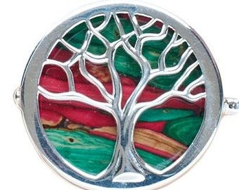 Scottish Tree of Life Celtic Brooch, Mother's Day Gift, Celtic Tree, Heather Jewelry, Gift for Her, Best Friend, Unique Pin, Ireland, Sister