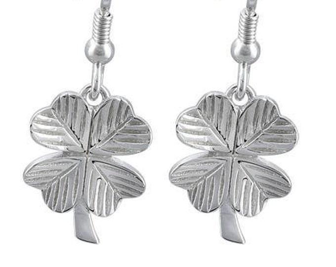 Wee Irish Shamrock Earrings, Celtic Jewelry, Feis Accessory, Irish Dance Gift, Mom Gift, Clover Jewelry, Ireland Jewelry, Wife Gift