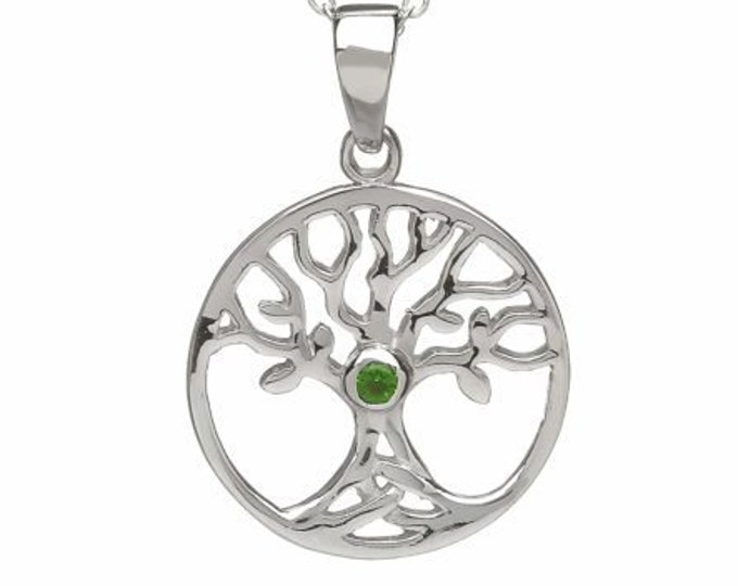 Tree of Life Necklace, Celtic Jewelry, Nature Jewelry, Anniversary Gift, Celtic Wedding, New Age Jewelry, Yoga Jewelry, Graduation Gift