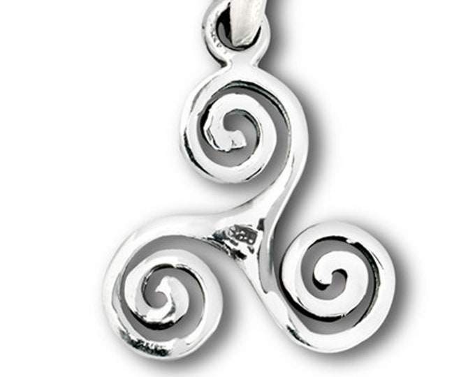 Celtic Spiral Necklace, Celtic Jewelry, Birthday, Sister, Mother, Gift for Her, Best Friend, Ireland, Wiccan Jewelry, Pagan Jewelry, Druid