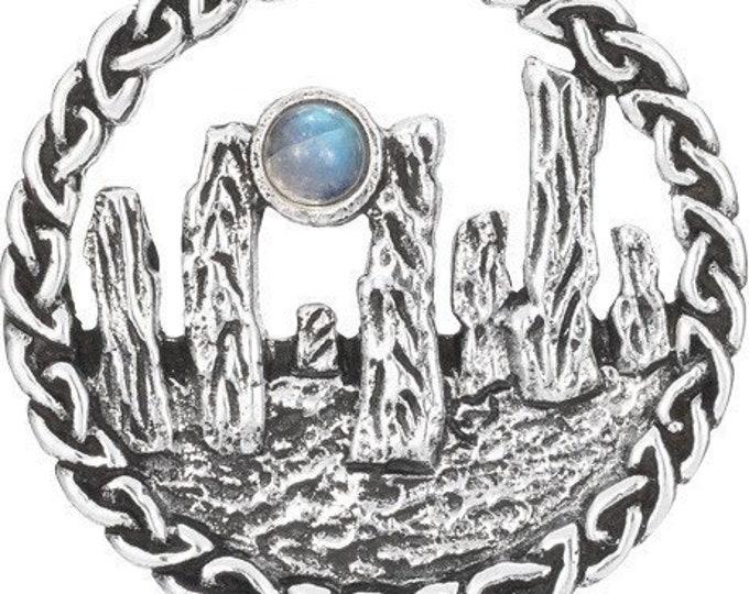 Outlander Scottish Standing Stones Necklace
