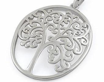Tree of Life Necklace, Celtic Jewelry, Irish Jewelry, Anniversary Gift, Bridal Jewelry, Scotland Jewelry, Yoga Jewelry, Norse Jewelry